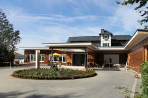 Wellnesshotel im Sauerland mit neuem Eingangsbereich