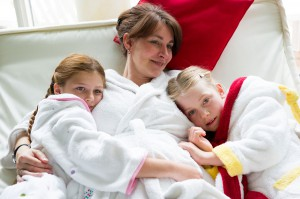 Familienwellness im Spa & Wellness Resort Romantischer Winkel