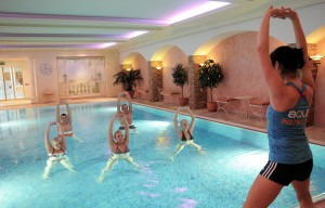 Aquafit im Engel Wellness & Genuss Resort