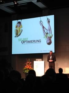 Dr. Franz Linser auf dem Fachforum Wellness zur ITB 2014