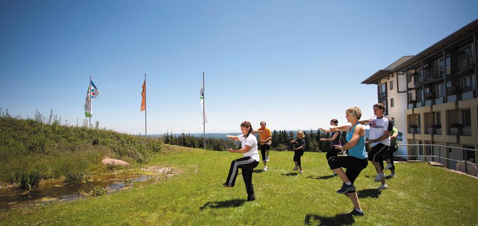 Fitness-Kurs im Nationalpark-Hotel Schliffkopf