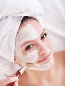Masken Hautpflege