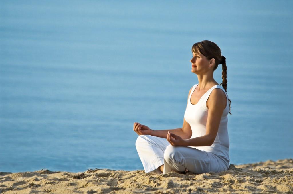 Yoga Stile am Meer