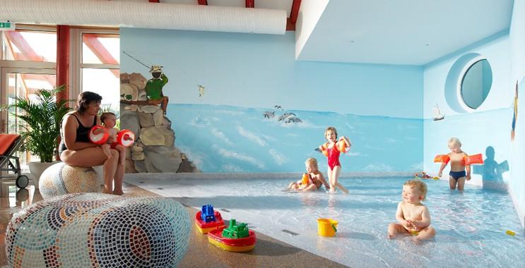 Kinderbetreuung schon für die ganz Kleinen gibt es im Familien-Wellnesshotel Sonnenpark