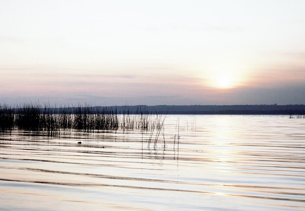 Sonnenuntergang beim Strandhotel Ostseeblick