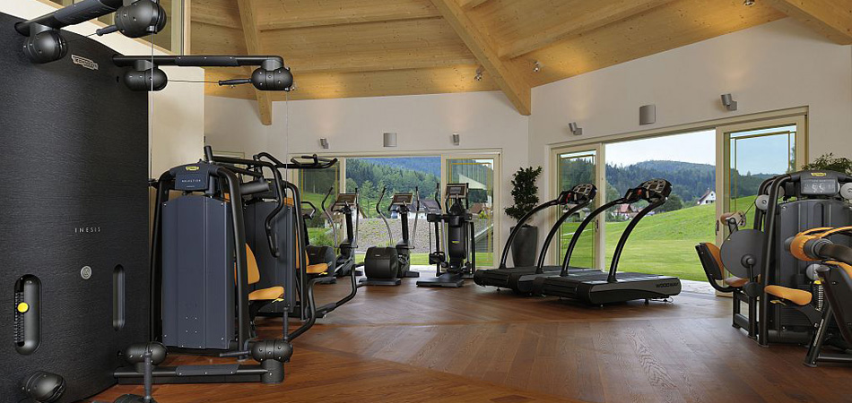 Fitnessraum im Wellnesshotel