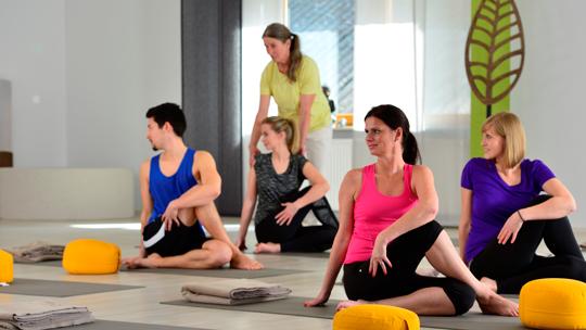 Yogakurs im Wellnesshotel
