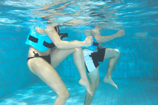 Wassergymnastik im Wellnesshotel