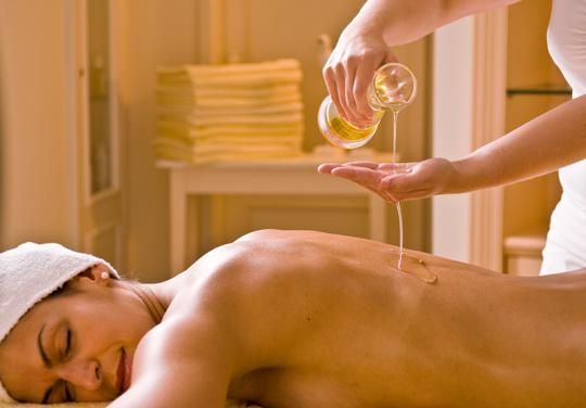 Sommer Massage Entschleunigung
