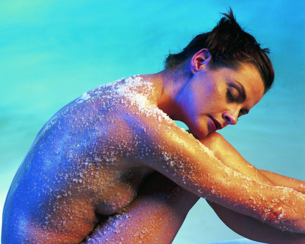 Wellness Peeling Hautpflege Auszeit