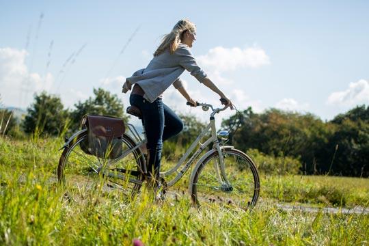 Fahrradfahren im Hotel Diedrich