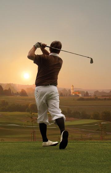Golfspielen im Hotel Sonnengut