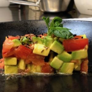 Salat Rezept Ernährung Avocado